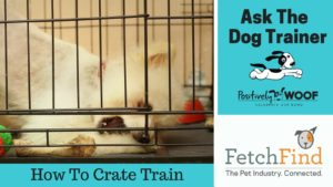 ask the dog trainer crate training